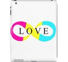 Infinite Love (pansexual colors) iPad Case/Skin