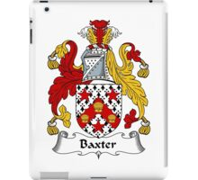 Baxter Coat of Arms / Baxter Family Crest iPad Case/Skin