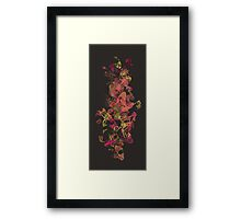 Funky Shapes Framed Print