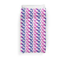 Infinite Love (bisexual colors) Duvet Cover