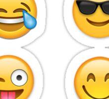 Faces Emoji Set Sticker