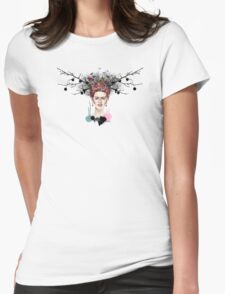 The Little Deer - Frida Kahlo Womens Fitted T-Shirt