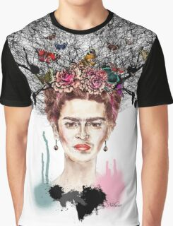 The Little Deer - Frida Kahlo Graphic T-Shirt