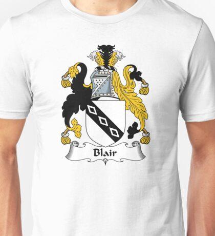 Blair Coat of Arms / Blair Family Crest Unisex T-Shirt