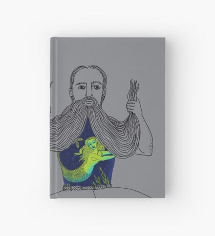The Sailor and the Mermaid Hardcover Journal