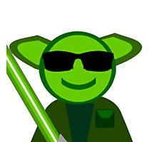 Yoda Shades Photographic Print