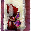 Jewel Tones Collage by Dana Roper