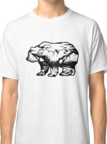 Landscape in a bear shape Classic T-Shirt
