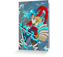 Raiden Legacy - Lighting Demon (Action) Greeting Card