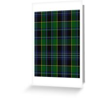 00901 Wilson's No. 30 Fashion Tartan  Greeting Card