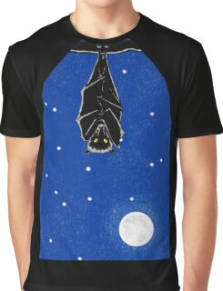 Bat in the Window Graphic T-Shirt
