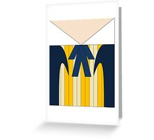 First Doctor  Greeting Card
