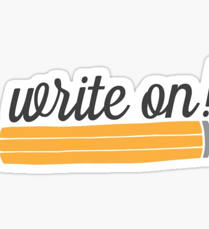 Write On! Sticker