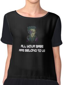 AYBABTU ~ All Your Base Are Belong To Us ~ t shirt Chiffon Top