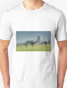Douglas C-47 Skytrains Unisex T-Shirt