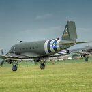 Douglas C-47 Skytrains by Nigel Bangert
