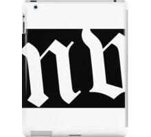 The MW Capsule iPad Case/Skin