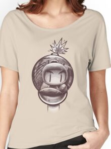 HAND WITH REFLECTING BOMB Women's Relaxed Fit T-Shirt