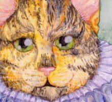 Edwardian Cat Sticker
