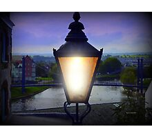 Evening Lamp Photographic Print