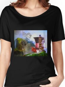 Mad Hatter - Hatters House Women's Relaxed Fit T-Shirt