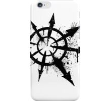 Tag of Chaos (black) iPhone Case/Skin