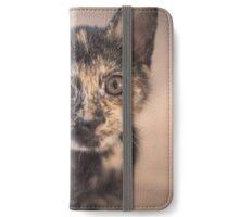 Little Nell Kitten iPhone Wallet/Case/Skin