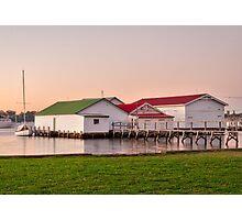 Mosman Park Boat House 2016 2 Photographic Print