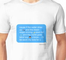 Ariana Grande - Best Mistake Text Unisex T-Shirt