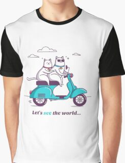 let's see the world! Graphic T-Shirt