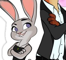 Mr & Mrs Smith - Zootopia Sticker