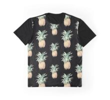 Pineapples Pattern Graphic T-Shirt