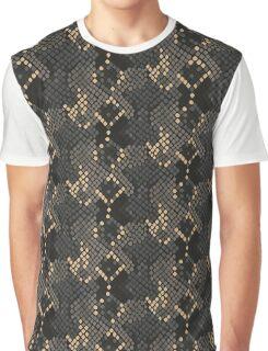 Snake skin artificial seamless texture. Graphic T-Shirt
