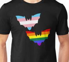 Gay Trans Pride Bats Unisex T-Shirt