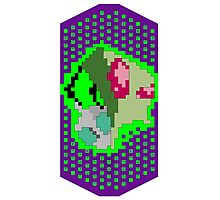 Pixel Invader Photographic Print
