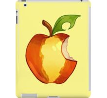 Striped Apple (bite) Parody iPad Case/Skin