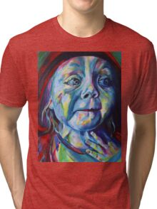 Oh my Grandmother, what big eyes you have! Tri-blend T-Shirt