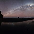 Milkyway over Whatipu  by earlcooknz