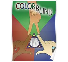Colorblind Print Poster