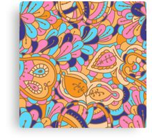 - Abstract fruits pattern -  Canvas Print
