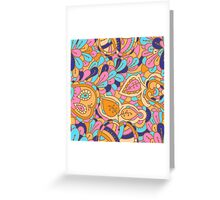 - Abstract fruits pattern -  Greeting Card