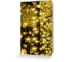 Cathedral of Light Vivid 2016 Greeting Card