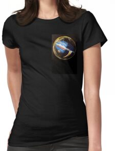 Earth Bubble Womens Fitted T-Shirt