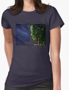 Earth and Sky Womens Fitted T-Shirt