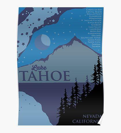 Lake Tahoe. Poster