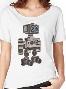 Camera Bot 6000 Women's Relaxed Fit T-Shirt