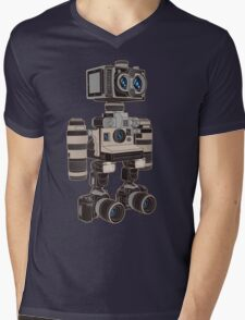 Camera Bot 6000 Mens V-Neck T-Shirt