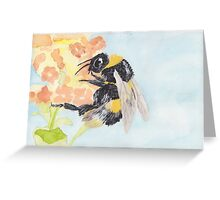 bumble 2  Greeting Card