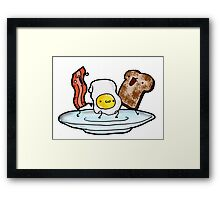 Breakfast Dance Framed Print