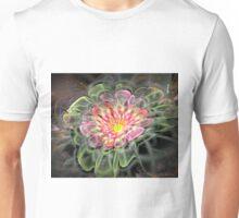 Pink velvet flower Unisex T-Shirt